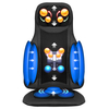 heated car vibrating shiatsu neck massager massage cushion
